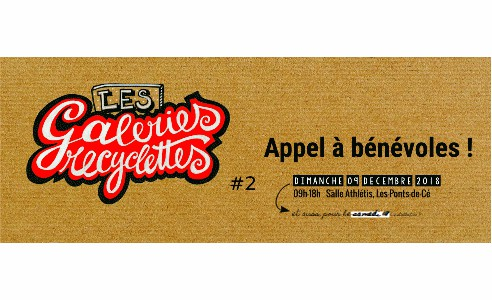 Les Galeries Recyclettes | Appel à bénévoles !