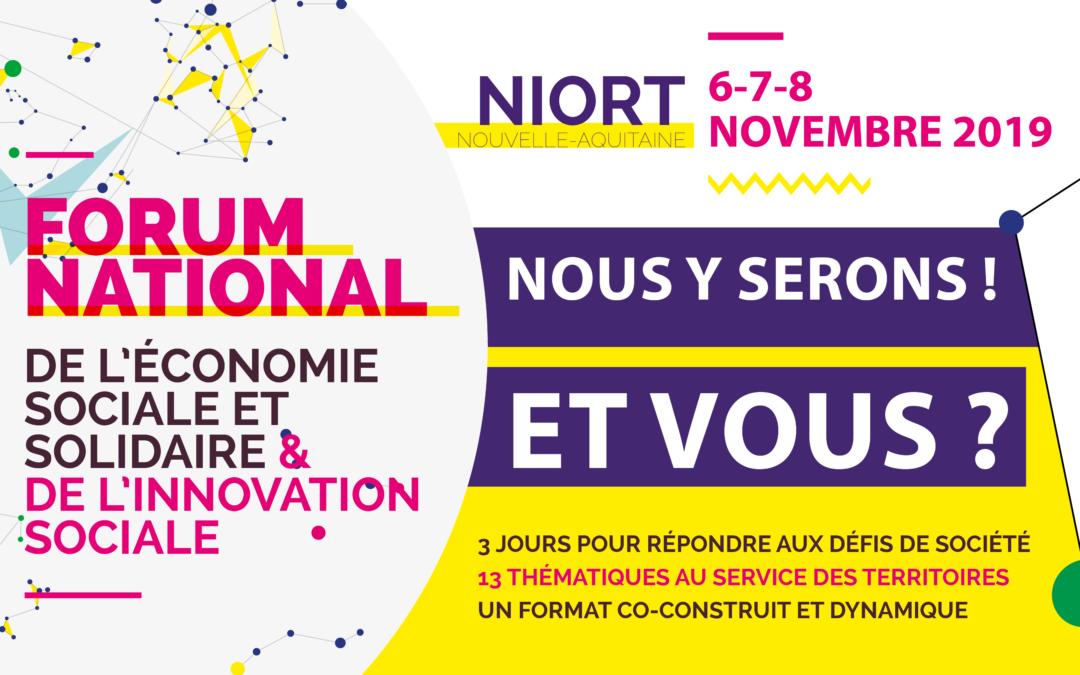 RDV | EVA au Forum National de l'ESS et de l'Innovation Sociale
