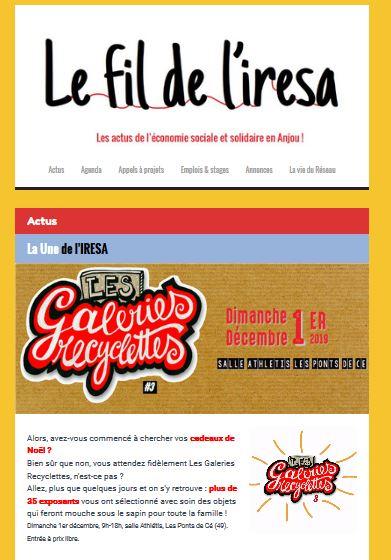 ACTUS | Le FIL de novembre