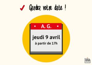 🎈 Assemblée Générale 🎈 @ Angers (infos à venir !)