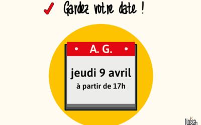 Assemblée Générale – Gardez la date !