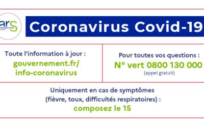 ACTUS | COVID-19 : AG et rdv reportés