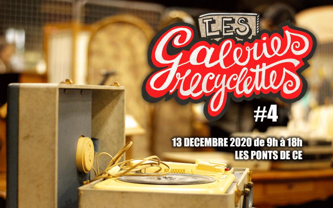 Appel à candidatures | Les Galeries Recyclettes #4 | 13 Décembre 2020