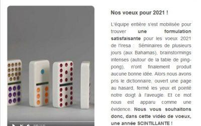 ACTU | Le FIL de Janvier 2021