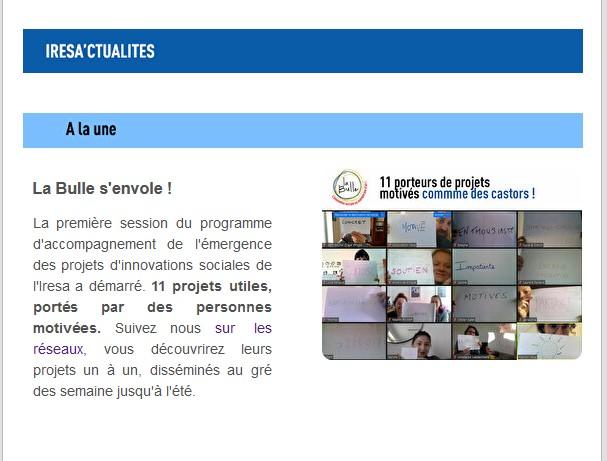 ACTU | Le FIL d'Avril 2021